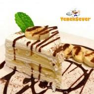 Muzlu Yaş Pasta Nasıl Yapılır – Muzlu Yaş Pasta Tarifi